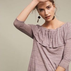Anthropologie Dolan charla off shoulder top small